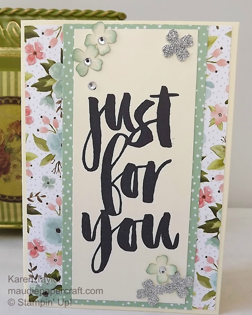 Stampin' Up! Botanicals For You cards