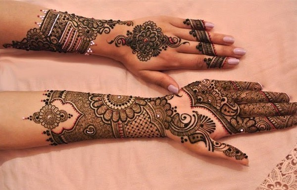 recent mehendi designs