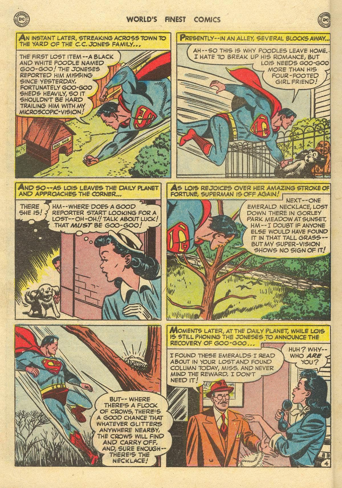 Read online World's Finest Comics comic -  Issue #51 - 6