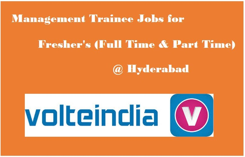 Management Trainee Jobs Full time  Part time at