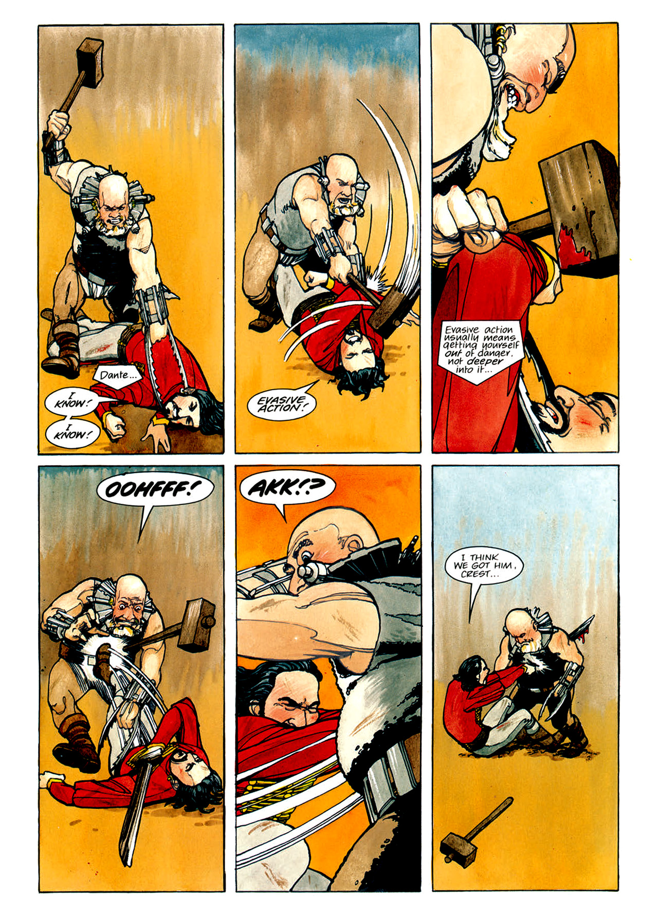Read online Nikolai Dante comic -  Issue # TPB 1 - 82
