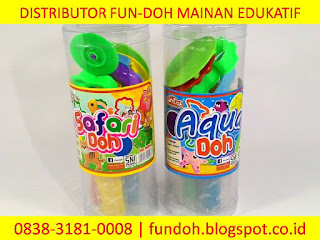 Fun-Doh variant tabung, safari doh, aqua doh, fun doh indonesia, fun doh surabaya, distributor fun doh surabaya, grosir fun doh surabaya, jual fun doh lengkap, mainan anak edukatif, mainan lilin fun doh, mainan anak perempuan