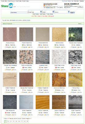 Natural Stone Colors