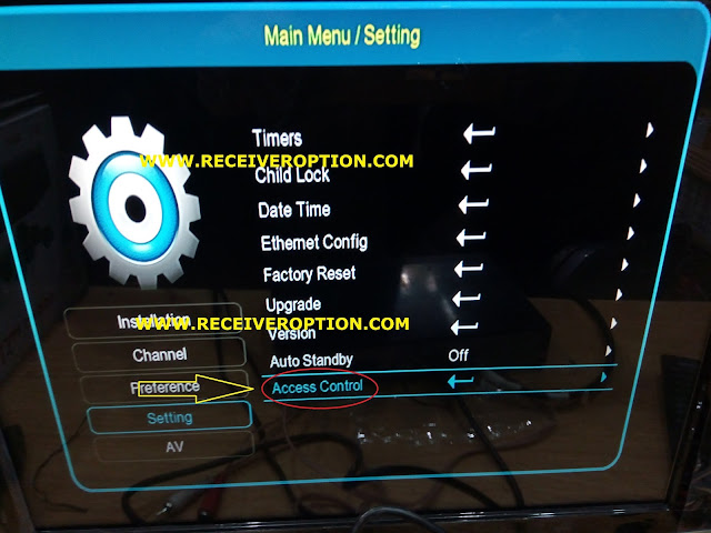 ACCESS CONTROL 2778 TYPE OLD HD RECEIVER 4MB AUTO ROLL POWERVU KEY NEW SOFTWARE