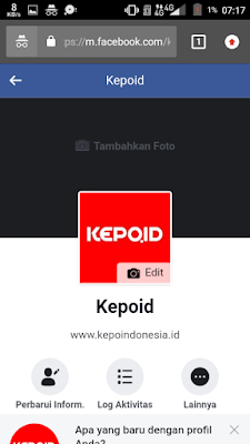 Log Aktivitas Facebook di Facebook Ori/Android/iOS