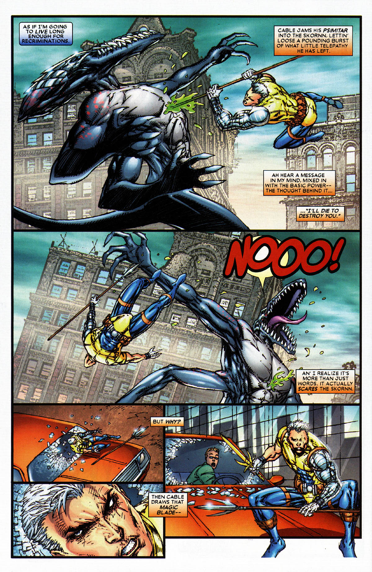 Read online X-Force (2004) comic -  Issue #6 - 23