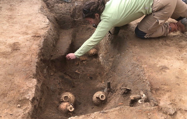 Roman cemetery found on tram extension route in Strasbourg