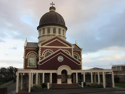 Basílica de Santa María. Invercargill, en Nueva Zelanda