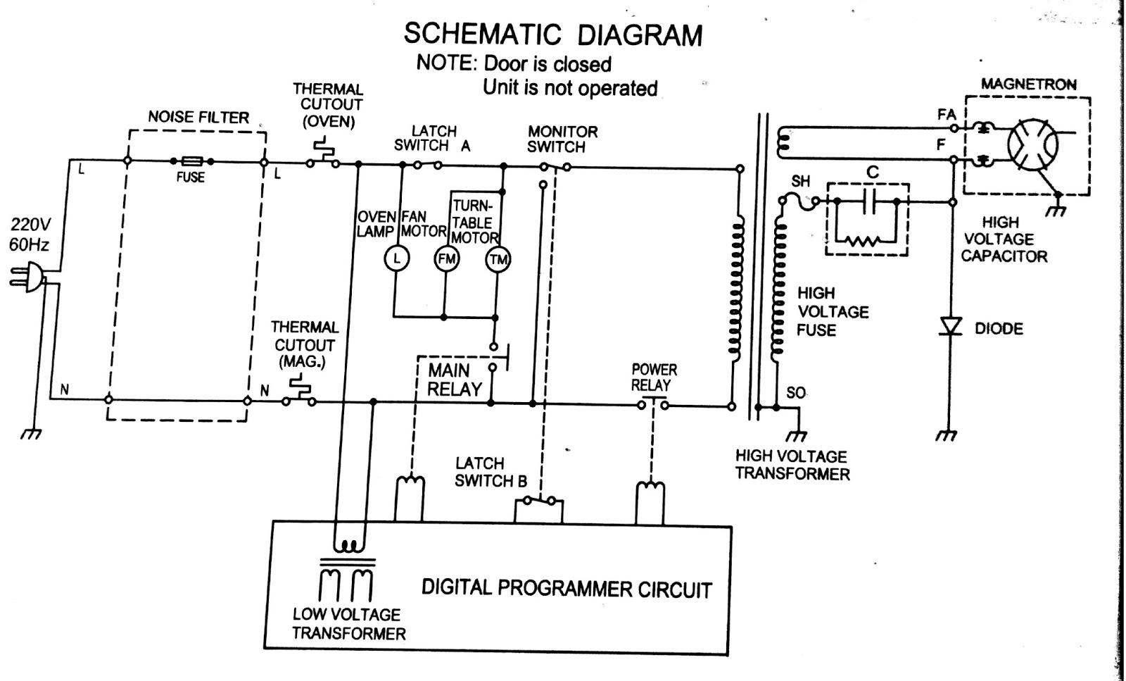 Socorro Da Casa Esquema Eletrico Microondas Philco 18 Litros