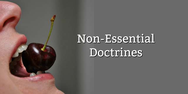 It's important to love fellow Christians with different non-essential doctrines. This 1-minute devotion compares it to another area where different views are also appropriate. #BibleLoveNotes #Bible