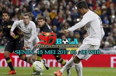 PREDIKSI PERTANDINGAN  REAL MADRID VS SEVILLA 15 MEI 2017
