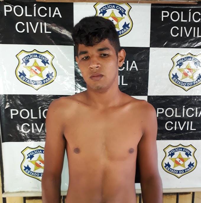 POLÍCIAS CIVIL E MILITAR DE ALENQUER CUMPREM MANDADO DE PRISAO CONTRA HOMEM ACUSADO DE  TENTATIVA DE HOMICÍDIO.