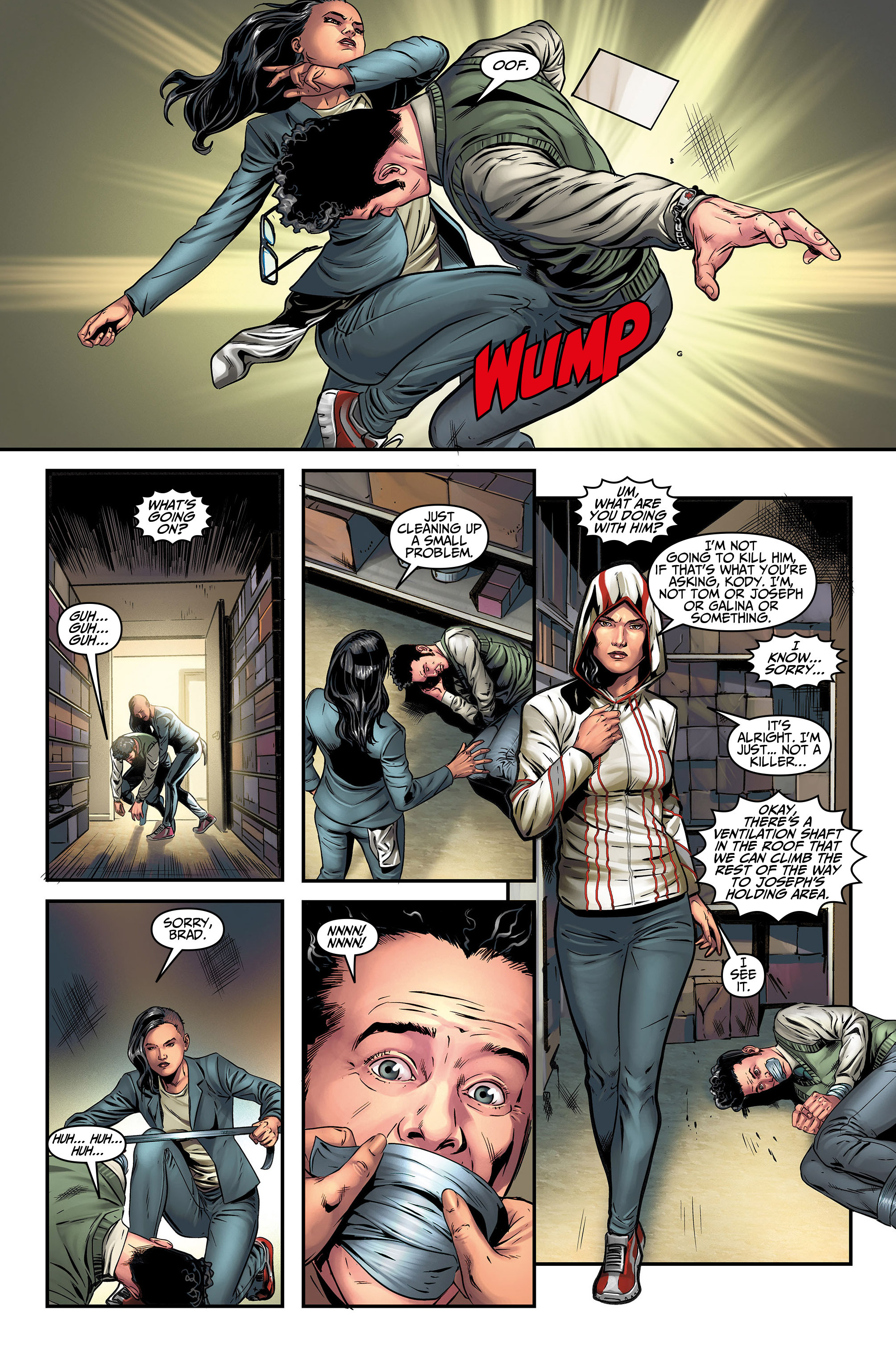 Read online Assassin's Creed (2015) comic -  Issue #5 - 7