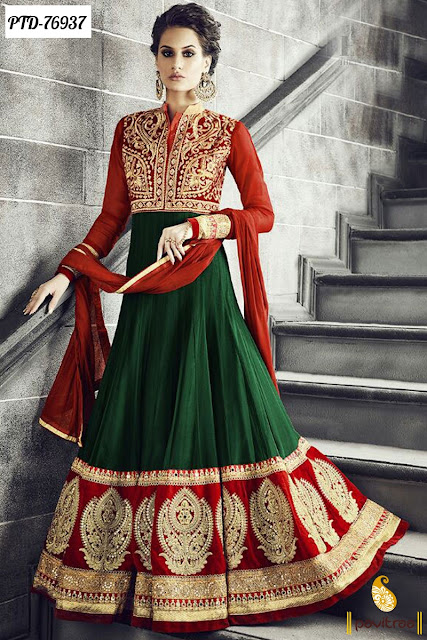 Latest Anarkali Salwar Kameez Dresses for Navratri Festival