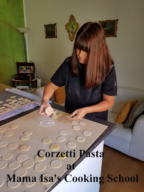 Vegetarian Cooking Classes in Italy Venice - Corzetti Pasta
