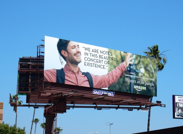 Mozart in the Jungle 2016 Emmy FYC billboard