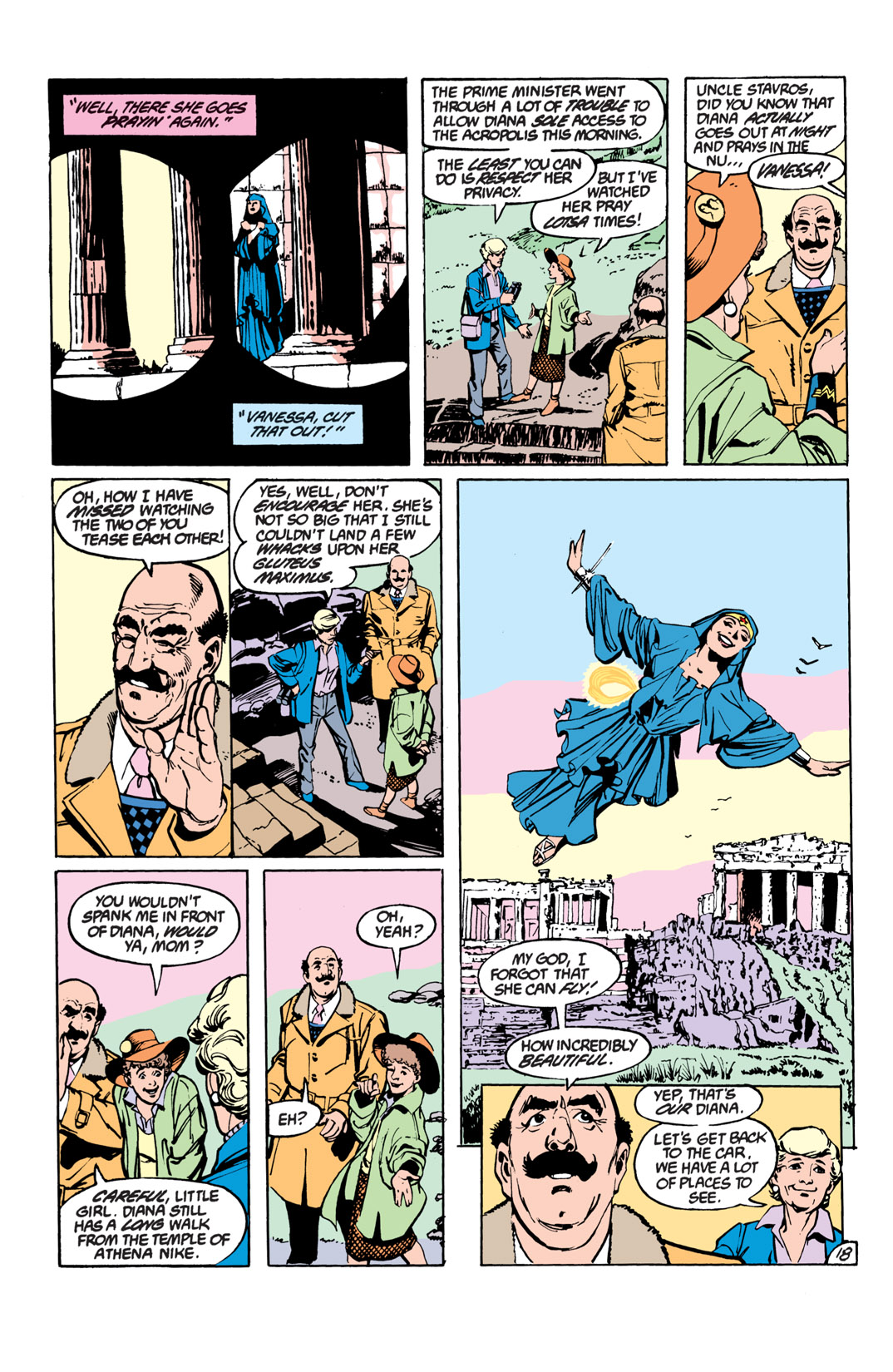 Read online Wonder Woman (1987) comic -  Issue #17 - 19