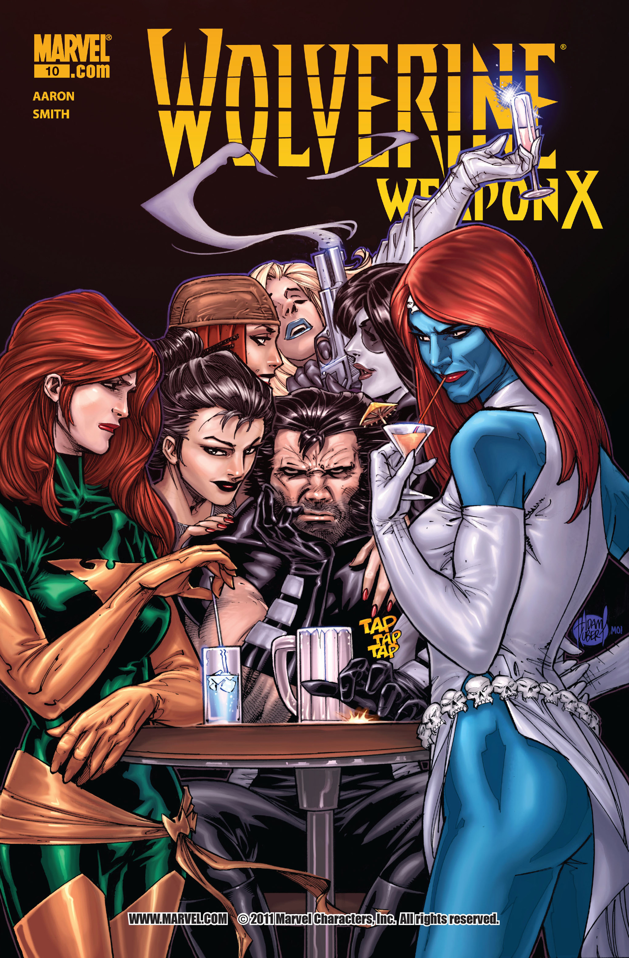 Read online Wolverine: Weapon X comic -  Issue #10 - 1