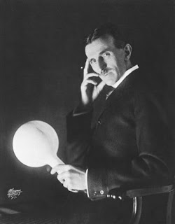 Foto de Nikolas Tesla todo un genio