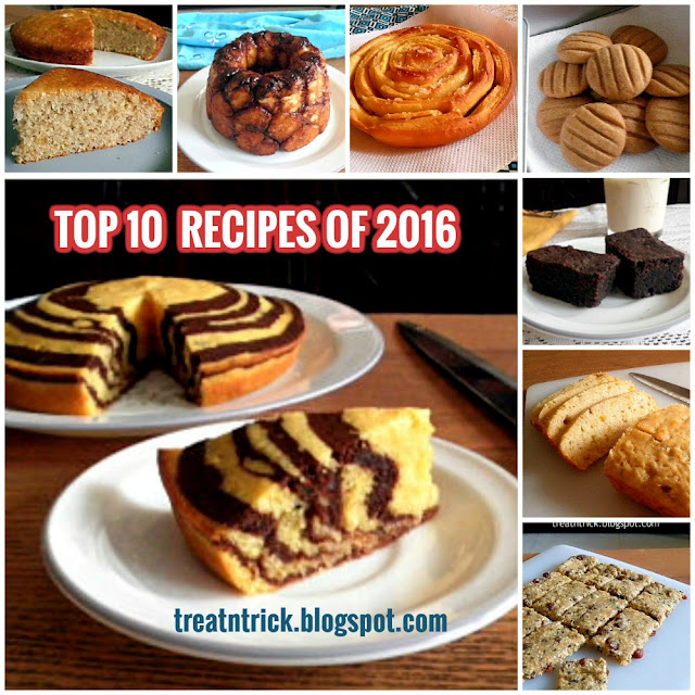 Top 10 Recipes of 2016 @ treatntrick.blogspot.com
