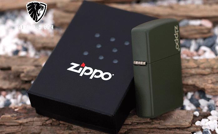 Zippo Xanh Bộ Đội - MS10 | Zippo | Zippo Việt Nam | Zippo Store