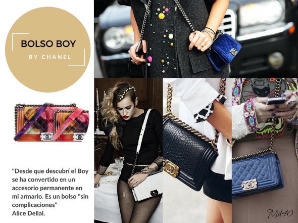 3 Girls 3 Bags by Chanel bolso boy