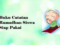Download Buku Catatan Ramadhan Siswa Siap Pakai