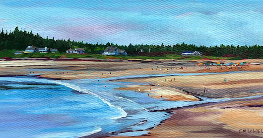 Plein Air Painters of the Bay of Fundy Painting Trip