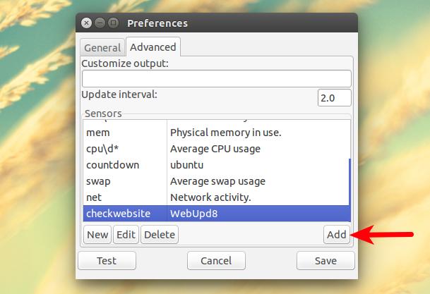 Ubuntu AppIndicator That Displays Bash Scripts Output On The