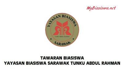 Biasiswa Yayasan Biasiswa Sarawak Tunku Abdul Rahman (YBSTAR) Sesi 2017/2018