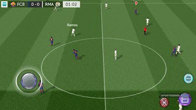 cara instal Update First Touch Soccer FTS 2017 Mod android