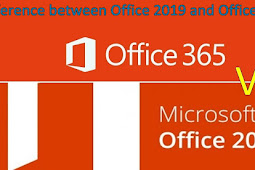 Difference between Office 2019 and Office 365