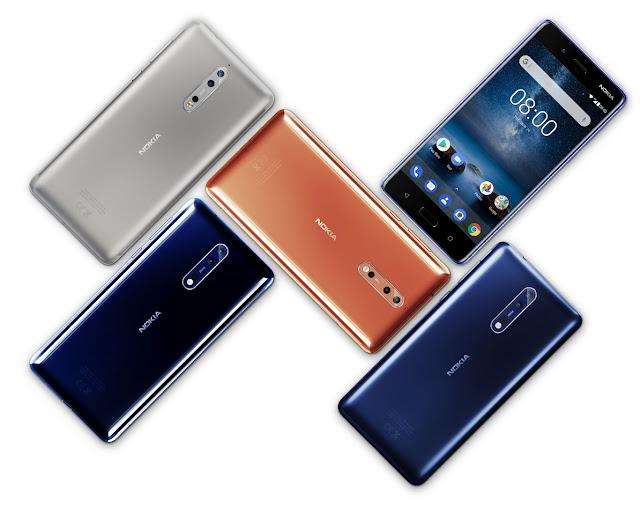 Nokia 8 chính thức ra mắt, camera Zeiss huyền thoại đã trở lại