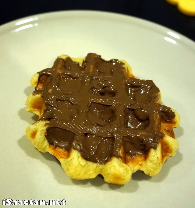 #2 Nutella Classic Waffle - RM5.90