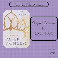 Paper Princess by Erin Watt a quick lit review on Reading List