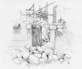 Una carriola di disegni la dispensa di casa calabrese for Casa disegno