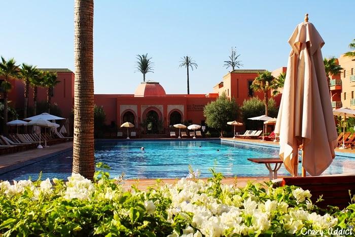 h tel les jardins de l 39 agdal marrakech crazy addict. Black Bedroom Furniture Sets. Home Design Ideas