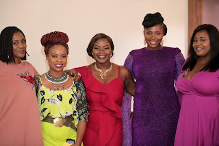 Rita Dominic, Omoni, Ufuoma, Kate Henshaw, Blessing Egbe dazzle on red carpet for The Women