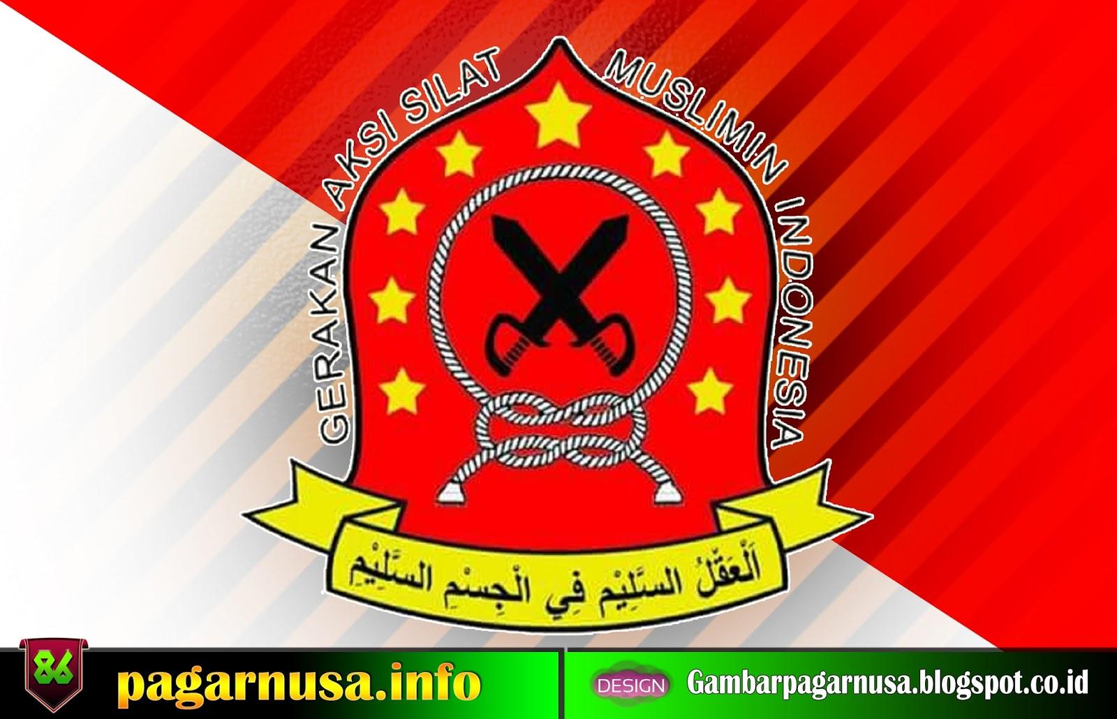 Desain Logo Pagar Nusa