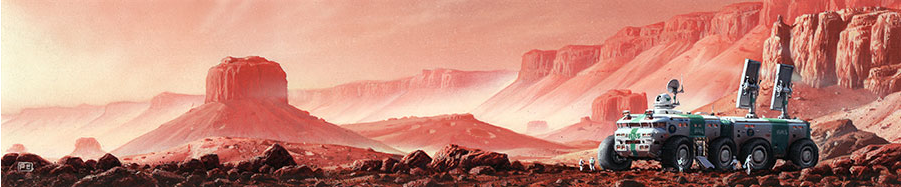 Red Mars by Peter Elson