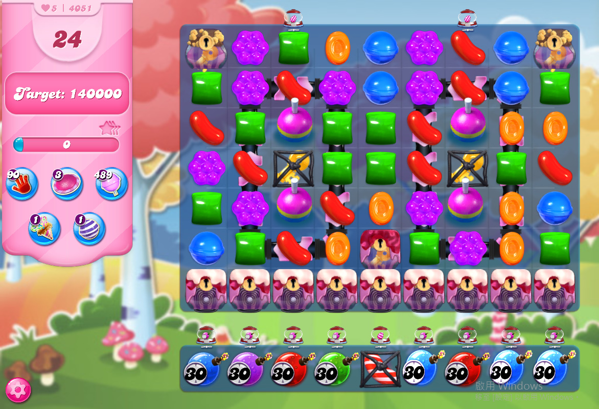 Candy Crush Saga level 4051
