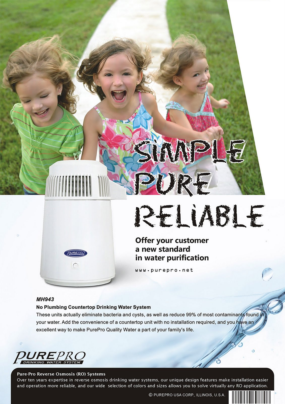 PurePro® MH-943 Water Distiller