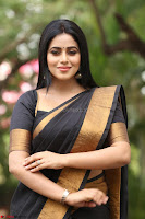 Poorna in Cute Backless Choli Saree Stunning Beauty at Avantika Movie platinum Disc Function ~  Exclusive 111.JPG