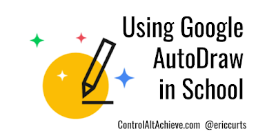 Using Google AutoDraw for Sketchnotes, Infographics, Drawings, and More
