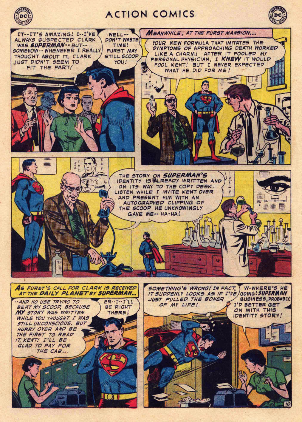 Read online Action Comics (1938) comic -  Issue #237 - 12