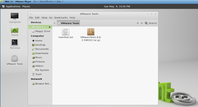 install VMware Tools for Linux Mint 12