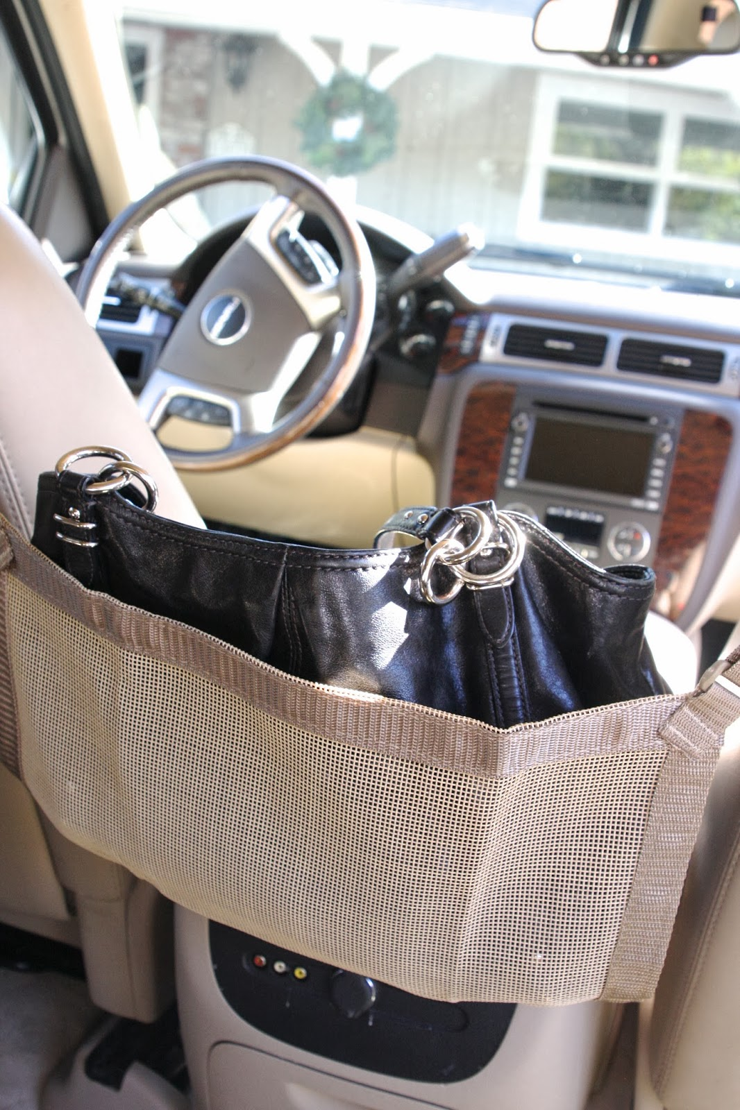 Handbag Storage Solution With Car Cache A Giveaway Simply Organized