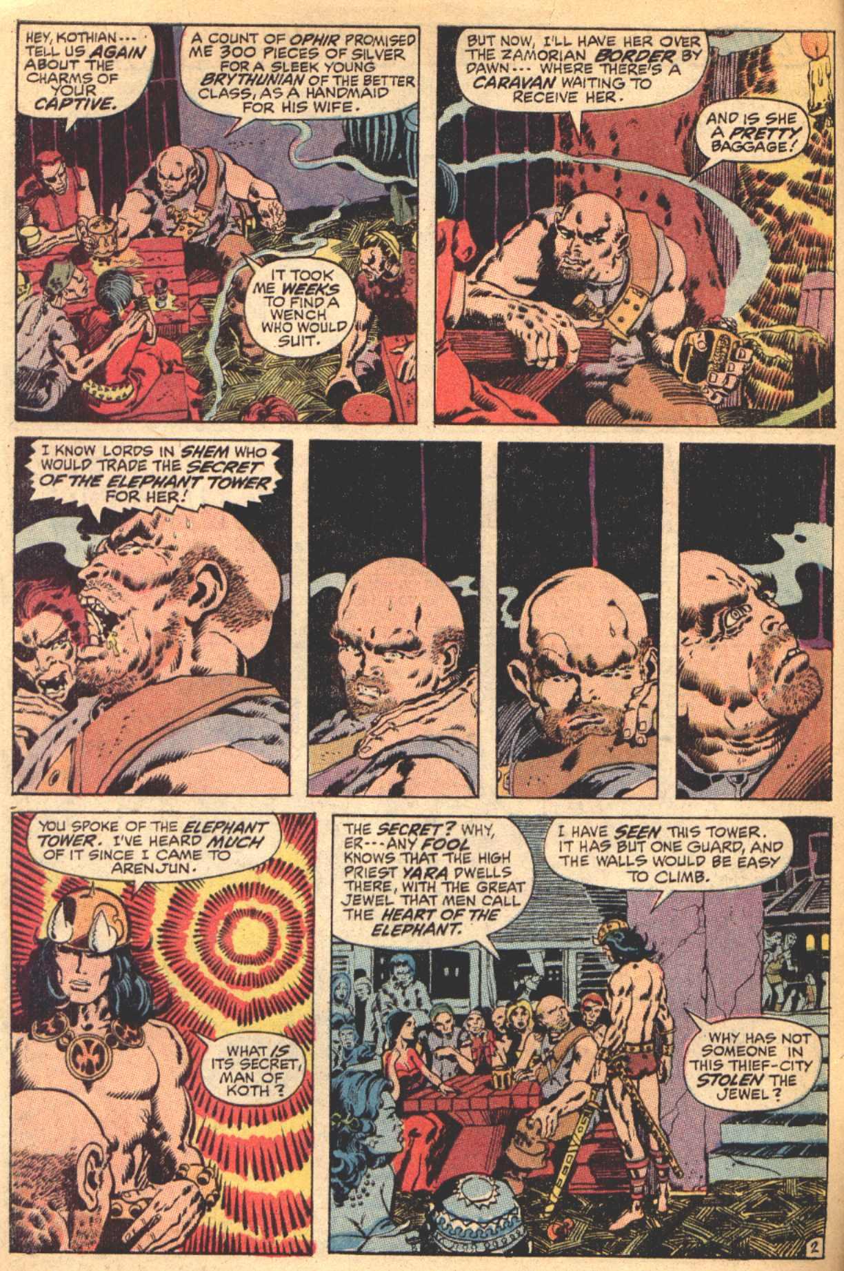 Conan the Barbarian (1970) Issue #4 #16 - English 3