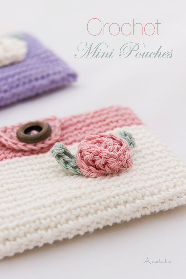 Mini Crochet Pouches to welcome Spring
