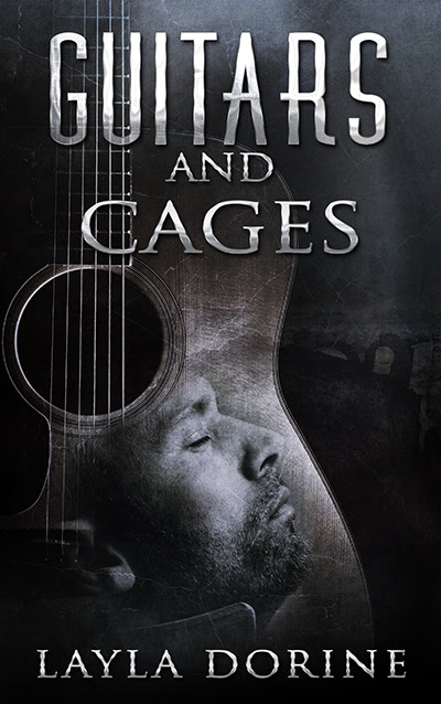 Cover Reveal Blitz - Guitars and Cages by Layla Dorine